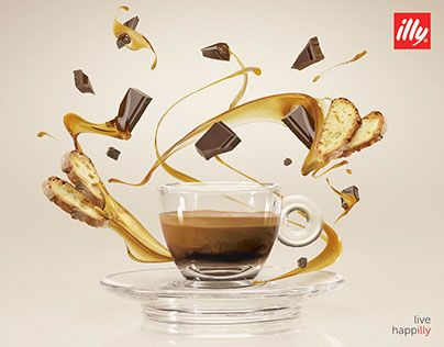 """Check out new work on my @Behance portfolio: """"Illy - Monoarabiche"""" http://be.net/gallery/40187537/Illy-Monoarabiche"""
