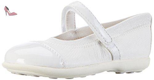 Geox Jr Jodie B, Ballerines Fille, Blanc (Whitec1000), 35 EU - Chaussures geox (*Partner-Link)