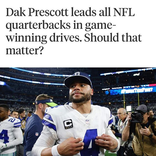 I Just Want To Throw These Facts Out There Dak Prescott Quarterback Dallas Cowboys