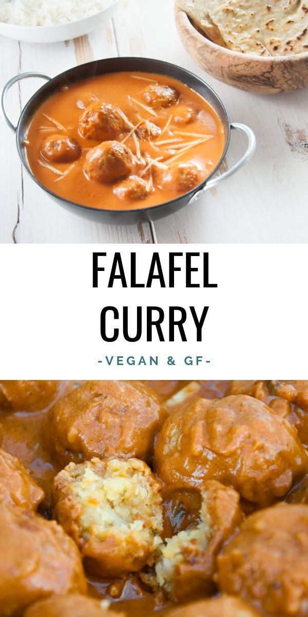 Vegan Falafel Curry – We all love falafel and we a…
