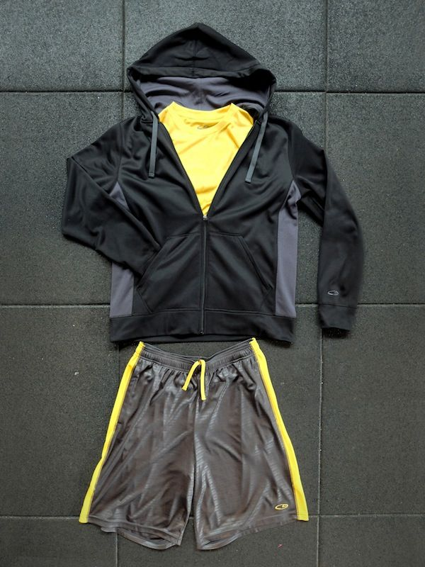 Suit up for your workout!