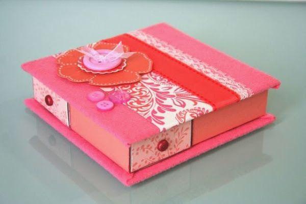 22 Ideas para decorar cajas de cerillos hermosos.