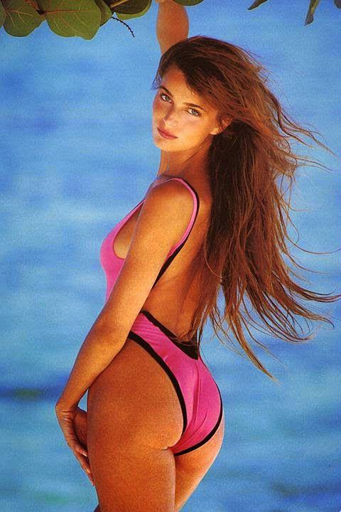 Swimsuitologist: One-Piece Wednesday: Paulina Porizkova ...