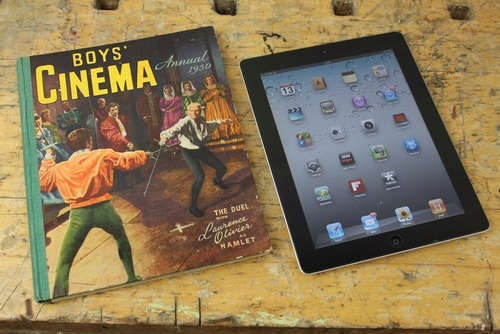 books into iPad cases