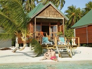 Meeru Island Resort & Spa in Maldives.  Snorkel to a shipwreck!