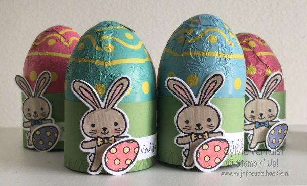 Basket Bunch Easter Eggs#workshop stepbox#Basket Bunch bundel#Stampi' Up!