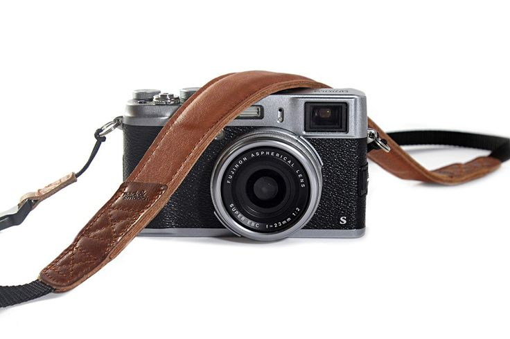 Padded Camera Strap made from finest German nappa leather - WS-S-LB by packandsmooch on Etsy