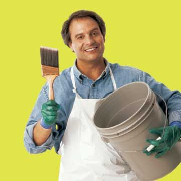 "Expert Advice: Cleaning Paint Brushes Painting expert Brian Santos reveals his special method for cleaning paint tools. Read more in his new book, ""Painting Secrets."""