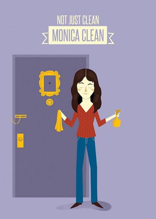Poster Friends - Monica