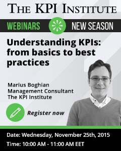 This educational webinar provides insights into an improved KPI management process through the usage of a Balanced Scorecard System.