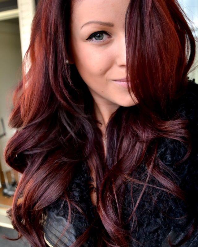 Plum Red Brown Hair Color 77572 Loadtve