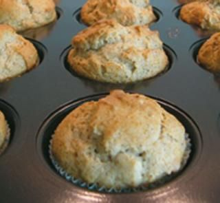 Low fat and sugar banana muffins - perfect for kids snacks