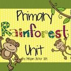 A fun filled unit all about the Rainforest! A 25  page unit that includes printables, songs, crafts and more!    This set includes:  -layers of the Ra...