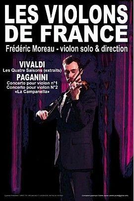 . . . . Pour leur tournée 2017, les artistes ont choisi de vous inviter à un voyage au coeur de la musique classique italienne en compagnie d'Antonio VIVALDI et de Niccolò PAGANINI. Vous pourrez ainsi découvrir ou redécouvrir :  VIVALDI : Les Quat