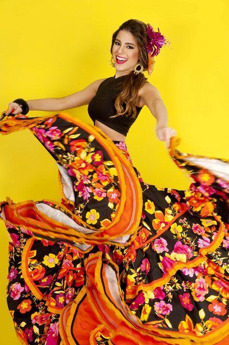 Resultado de imagen para vestido cumbia colombiana