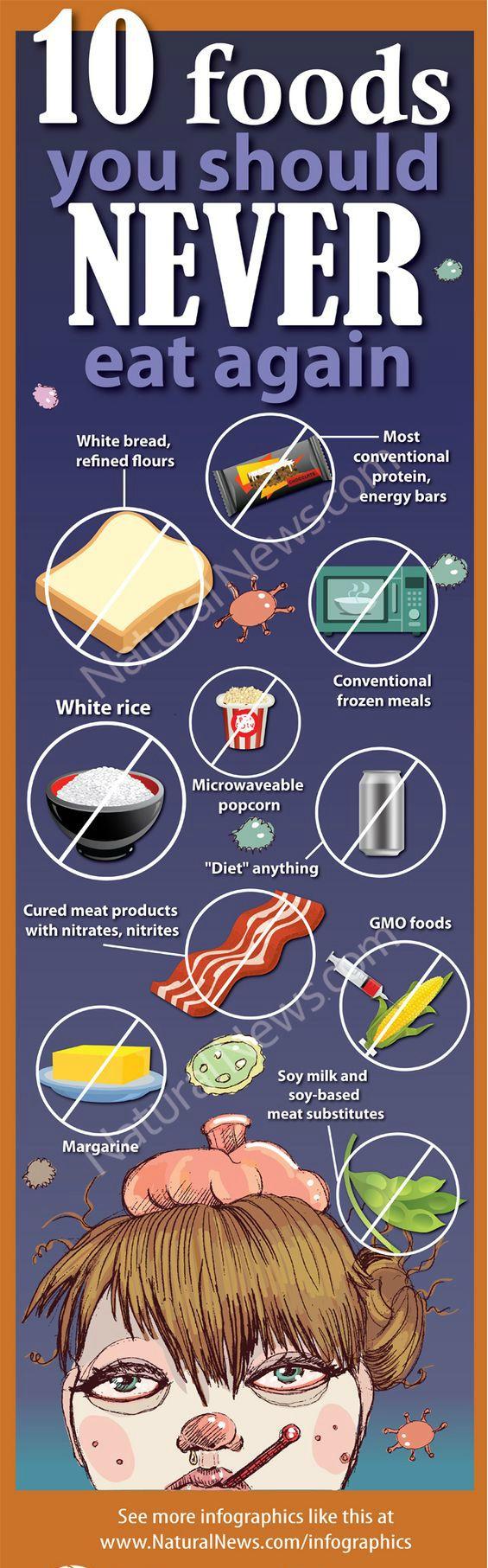 10 foods you should never eat again #diet #weightlossdiet #bellyfat #healthydiet #losebellyfat #howtolosebodyfat