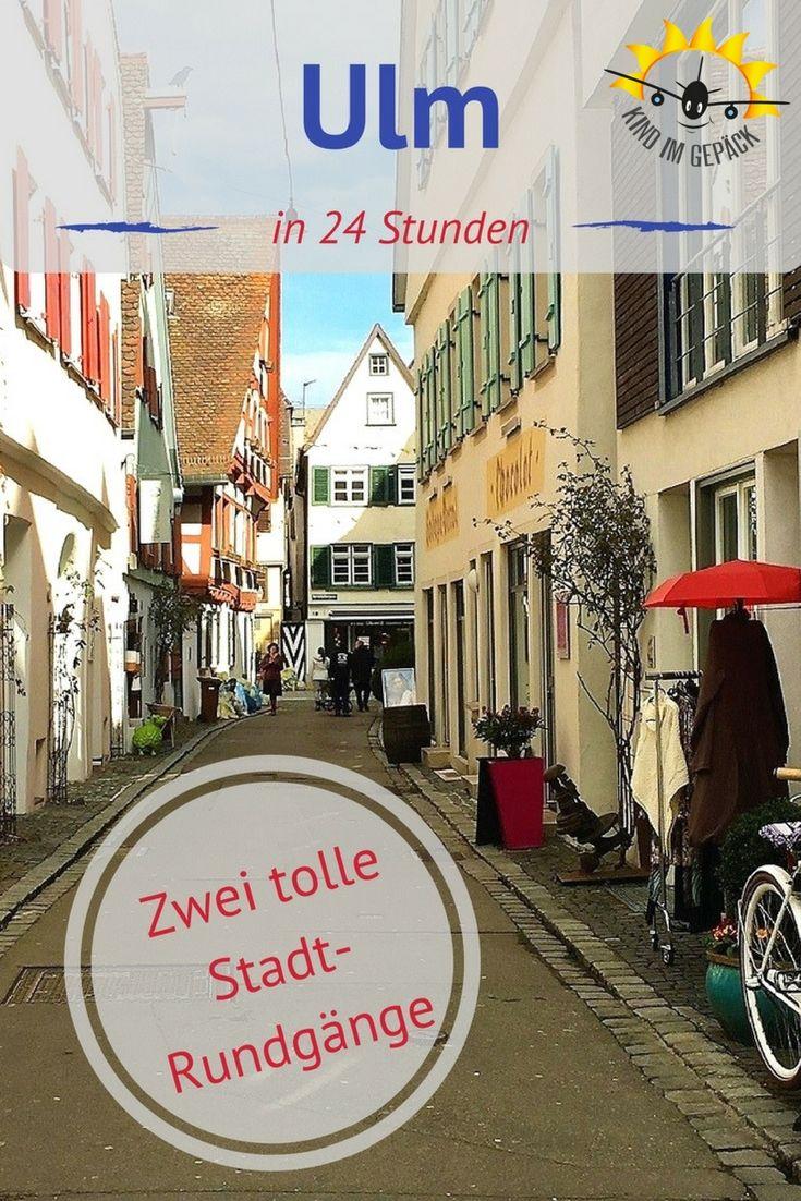 In Ulm, um Ulm und um Ulm herum. Die Altstadt grandios, die Ulmer freundlich, perfekt auch für Familien für einen Städtetrip, Kurztrip oder Wochenendausflug.