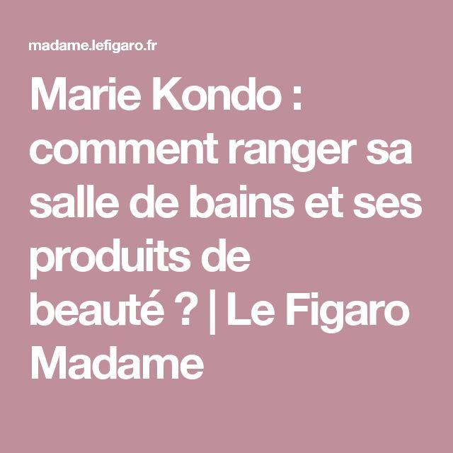 1000 ideas about comment ranger on pinterest clothes hanger trieur papier - Comment ranger sa coiffeuse ...