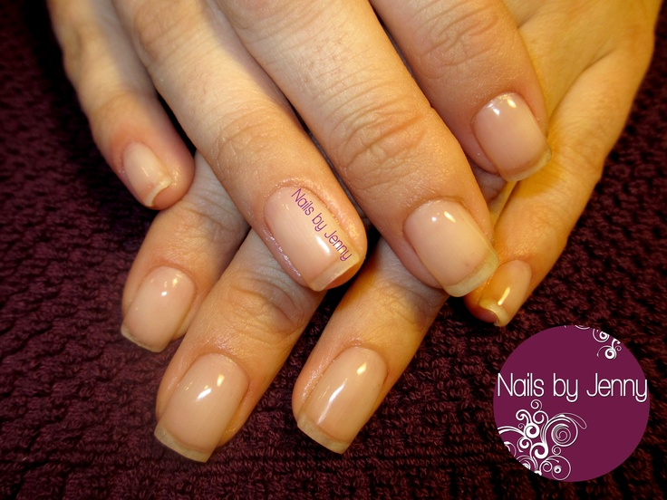 Gel Overlay on Natural Nails