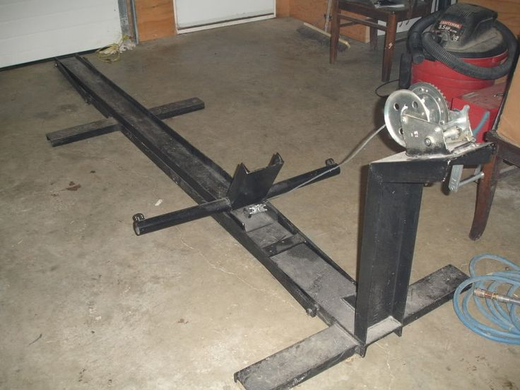 Homemade Motorcycle Lifts Stands And Dollies on diy car rotisserie
