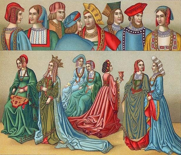 53 Best Images About Medieval Dress On Pinterest: 22 Best Images About 15th Century Clothing On Pinterest