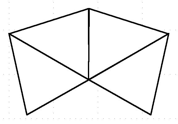 3 sided pyramid template - Google Search Pyramid things - pyramid template