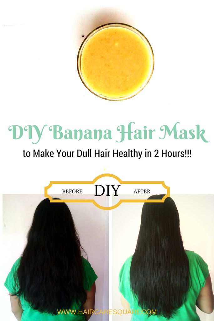 Diy Banana Hair Mask for Dry and Damaged Hair!!!  This amazing Do-It-Yourself banana mask will transform your hair within just 2 hours. No matter how damaged your hair appear, no matter how much frizzy and unmanageable your hair are, this hair care mask will actually transform your hair and leave you with the beautiful results.
