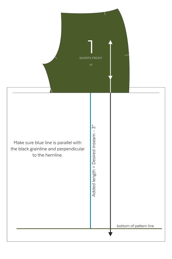 Learn how to make a shorts pattern into pants! http://blog.megannielsen.com/2016/09/tutorial-harper-pants-hack/?utm_campaign=coschedule&utm_source=pinterest&utm_medium=Megan%20Nielsen%20Patterns&utm_content=Tutorial%20%2F%2F%20Harper%20Pants%20Hack
