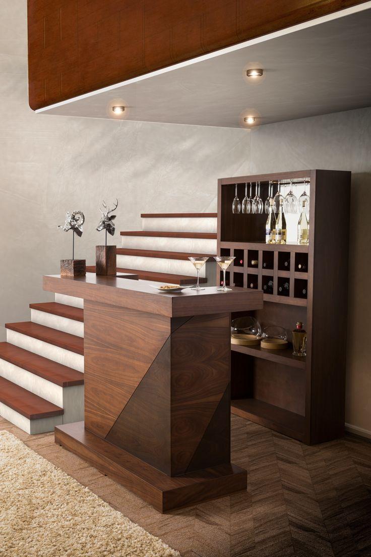 Las 25 mejores ideas sobre mini bares en pinterest bar - Barras de bar para casas ...