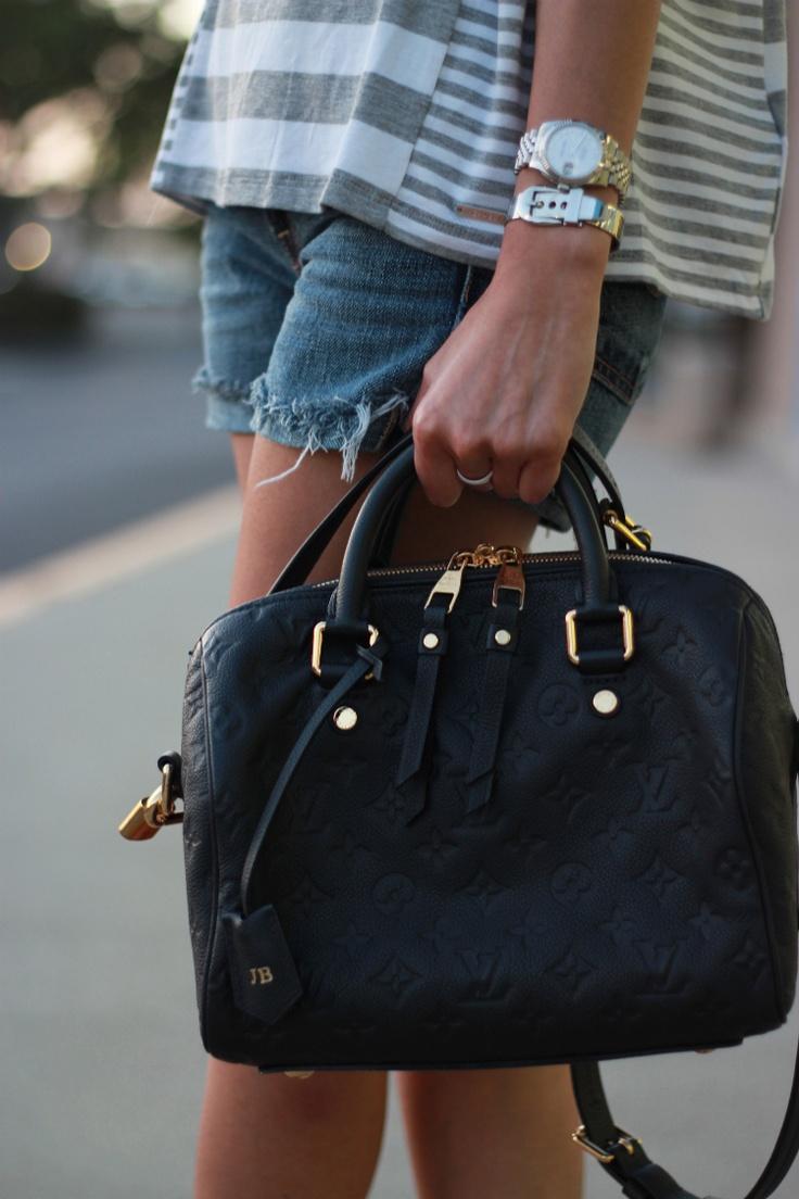Louis Vuitton Empreinte Speedy 30 in Infini. <3 next bag for sure!