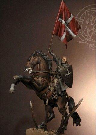Brother Knight of the Hospitalier order - Early XIII Century