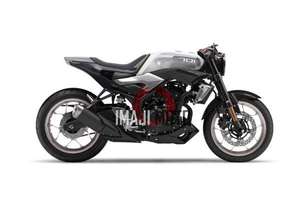 Modifikasi Yamaha MT25 Neo Cafe Racer Ala Husqvarna Vitpilen