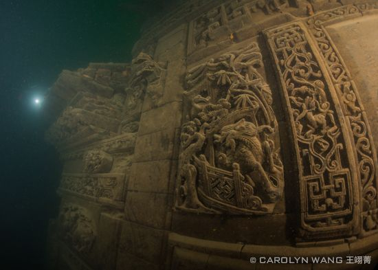 Dive the Ancient Ruins of Lion City in Qiandao Lake|Underwater Photography Guide