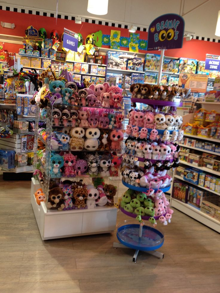 Ty creates many new Beanie Babies each year, and you may find everything from stuffed frogs to toy bears in the collection. Each stuffed animal features a washable surface, an identification tag that indicates its authenticity, and a birth date and story to make the toy more interesting.
