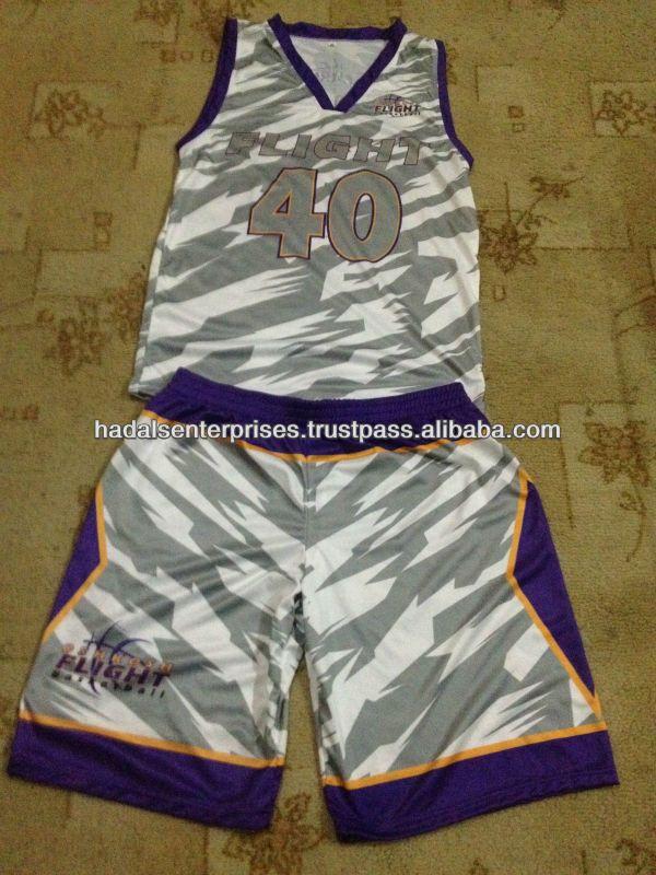 Basketball Uniforms Sublimation Basketball Uniforms