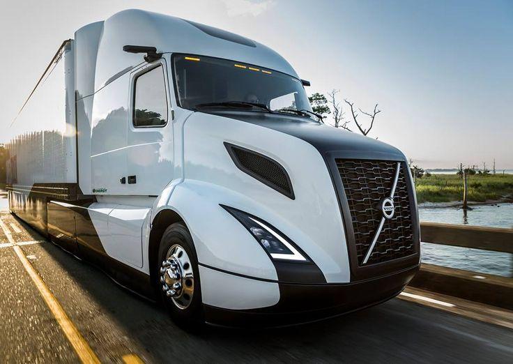 Nuevo Concepto Volvo Súper Truck 2016                                Luces full Led - ahorran energía y mejora...