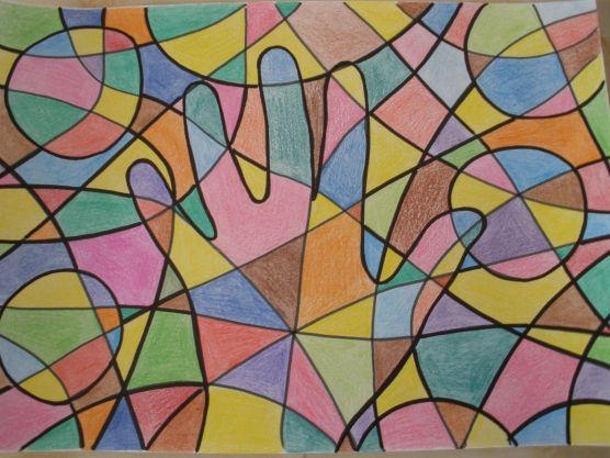 Конспект занятия с элементами арт-терапии «Загадочный фрактал» - Для воспитателей детских садов - Маам.ру