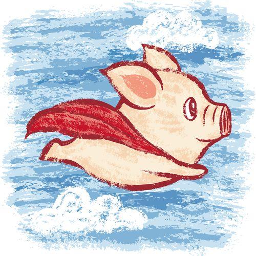 Piensa en un cerdo volador: cómo funcionan las metáforas en el cerebro « Pijamasurf
