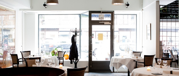 Street view from the a la carte @Restaurant CLOU