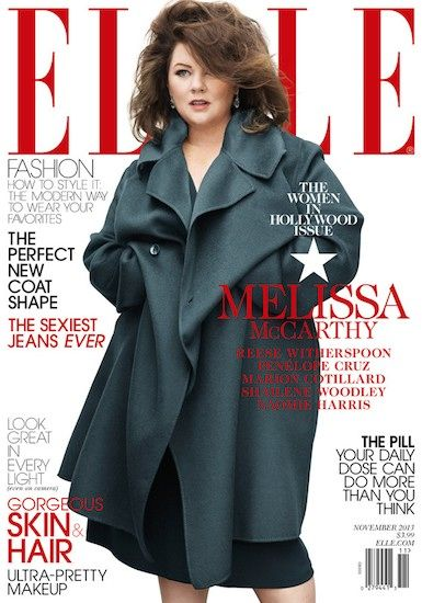 Why Melissa McCarthy's Elle Magazine November 2013 Cover Isn't a Victory for Plus-Size Women