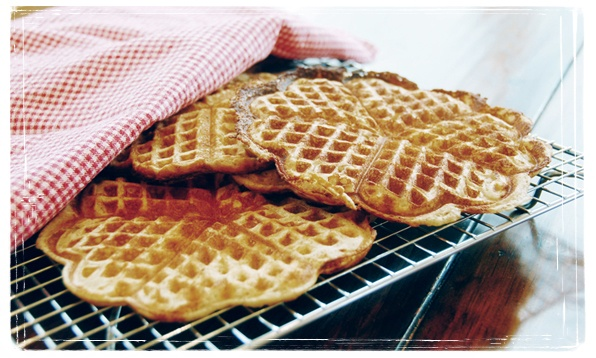 Torill's Waffles are wholesome and delicious, based on natural ingredients  and containing no preservatives or fillers.