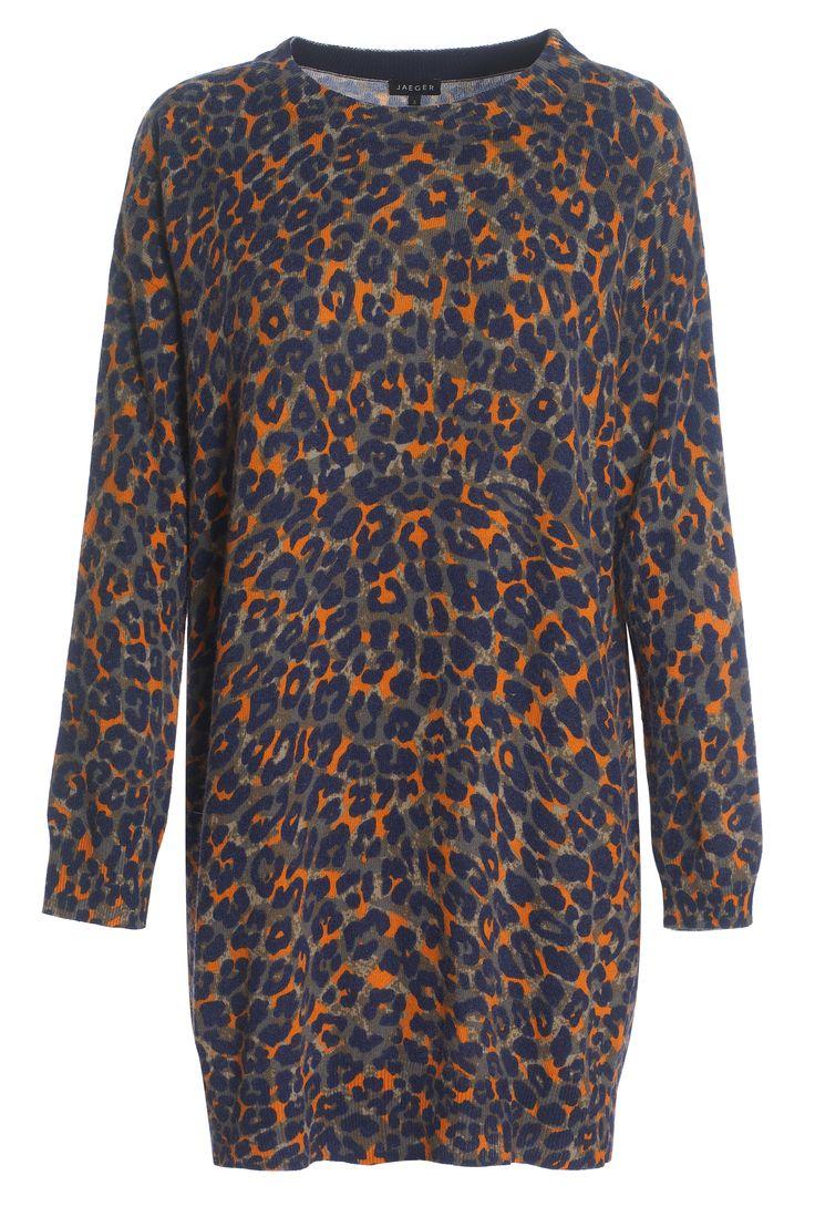 Jaeger animal jumper dress