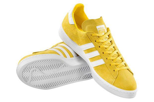 gazelle adidas amarillas