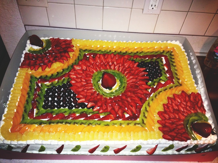 Milhojas cake
