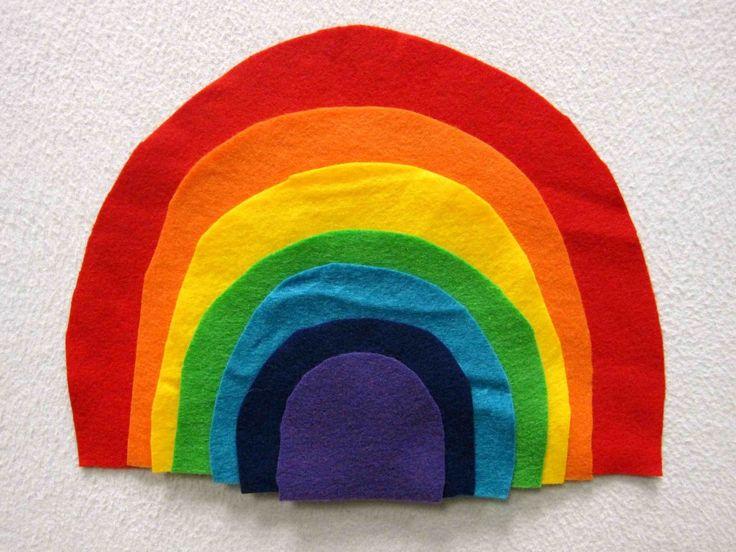 """I Can Sing a Rainbow"" Flannel Board"