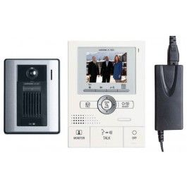 Aiphone Colour Intercom Kit JKS Handsfree with Plastic Door Station
