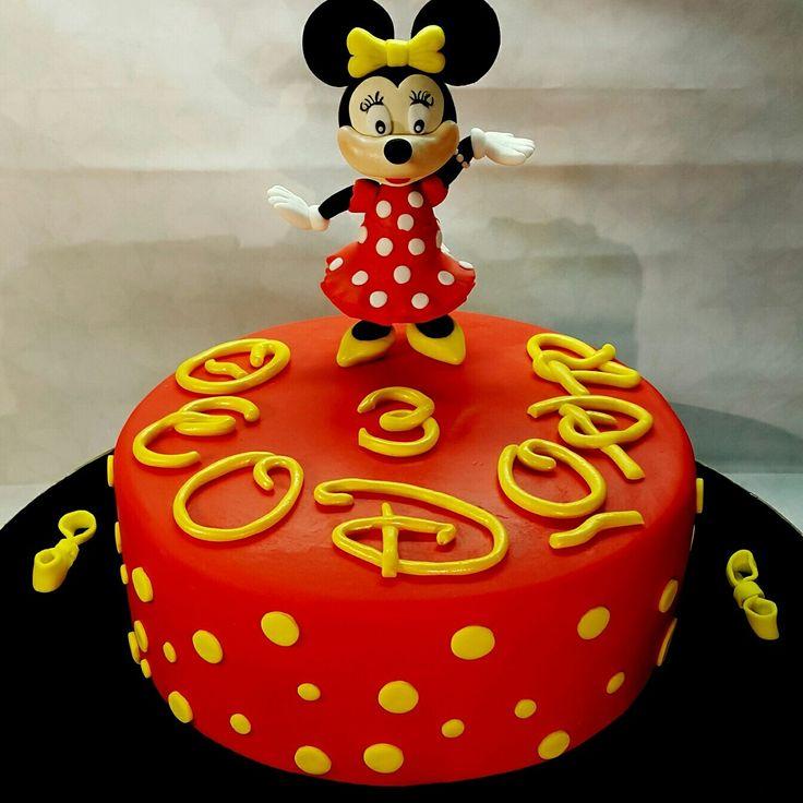 Minnie mouse cake  Fondant cake  Custom Homemade Cakes By Handy Nancy