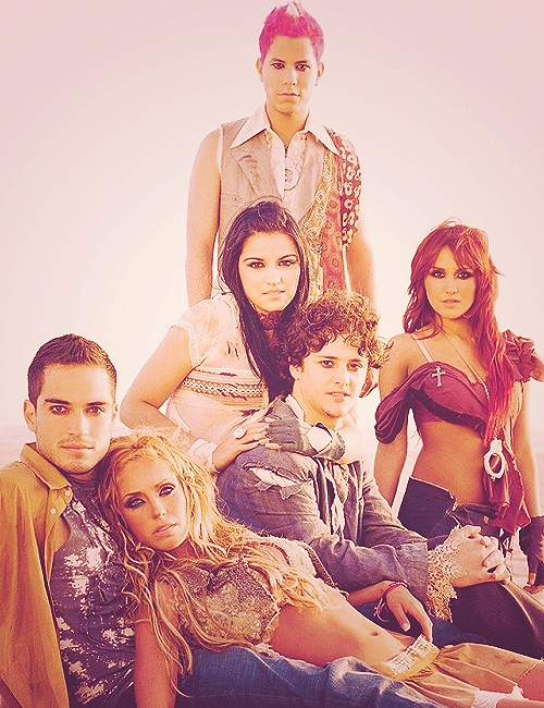 Omg!! I was what you call obsessed with this band RBD!!