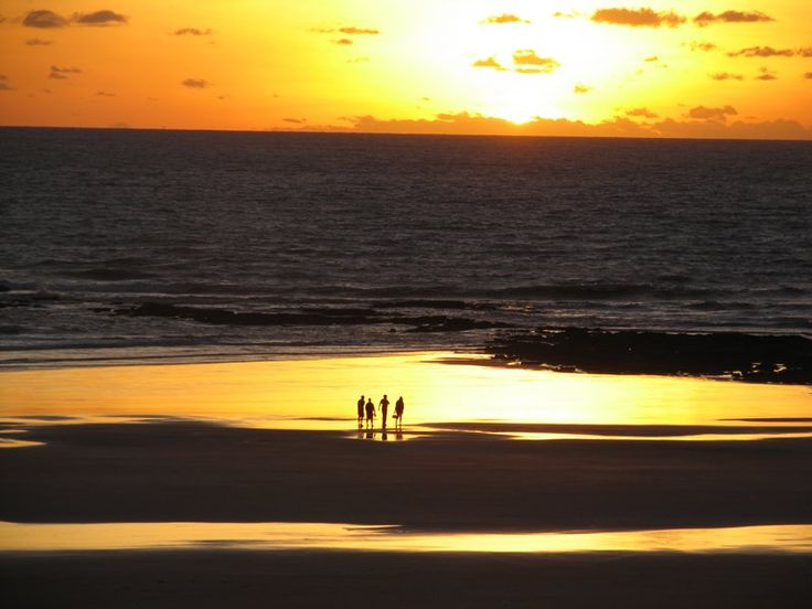 Cable Beach. Sunset in Broome. so lucky to have witnessed this.