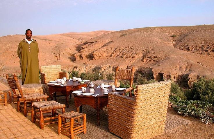 la pause - marrakech